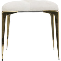 Stiletto Bench, White - Furniture - Chairs - High Fashion Home