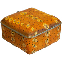 Sturgeon Skin Box, Orange