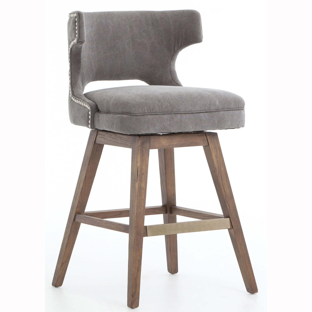 Task Counter Stool, Dark Moon - Furniture - Dining - Dining Stools