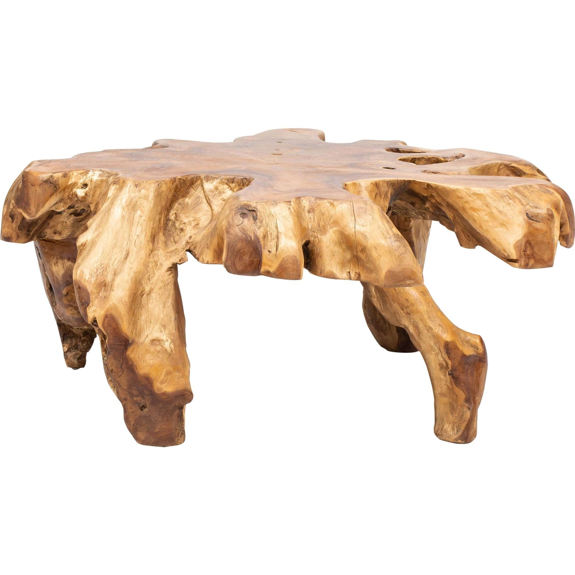 Teak Root Coffee Table – High Fashion Home