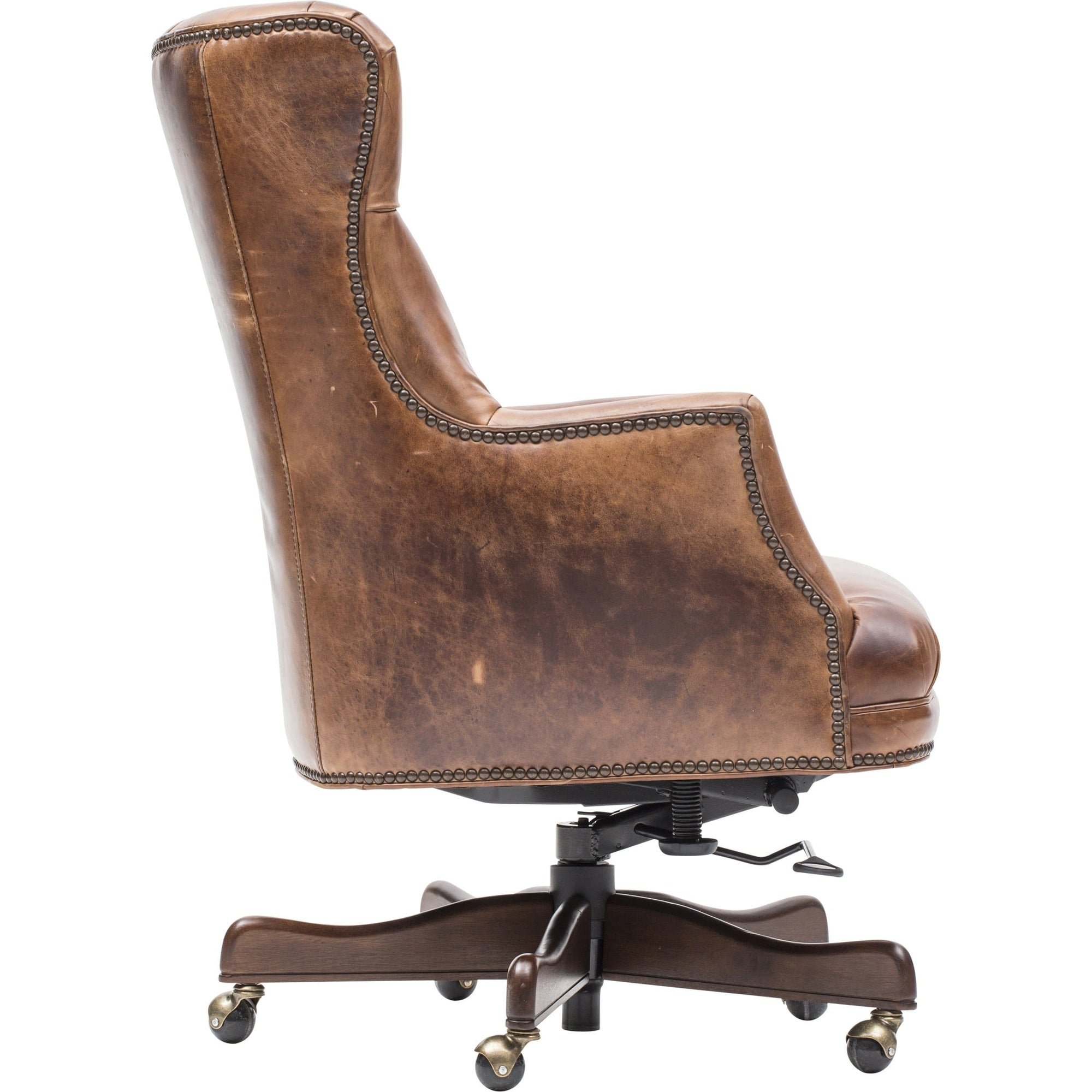 Theodore Executive Leather Office Chair High Fashion Home