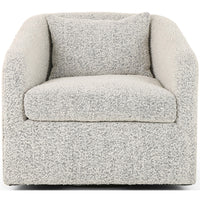 Topanga Swivel Chair - Modern Furniture - Accent Chairs - High Fashion Home