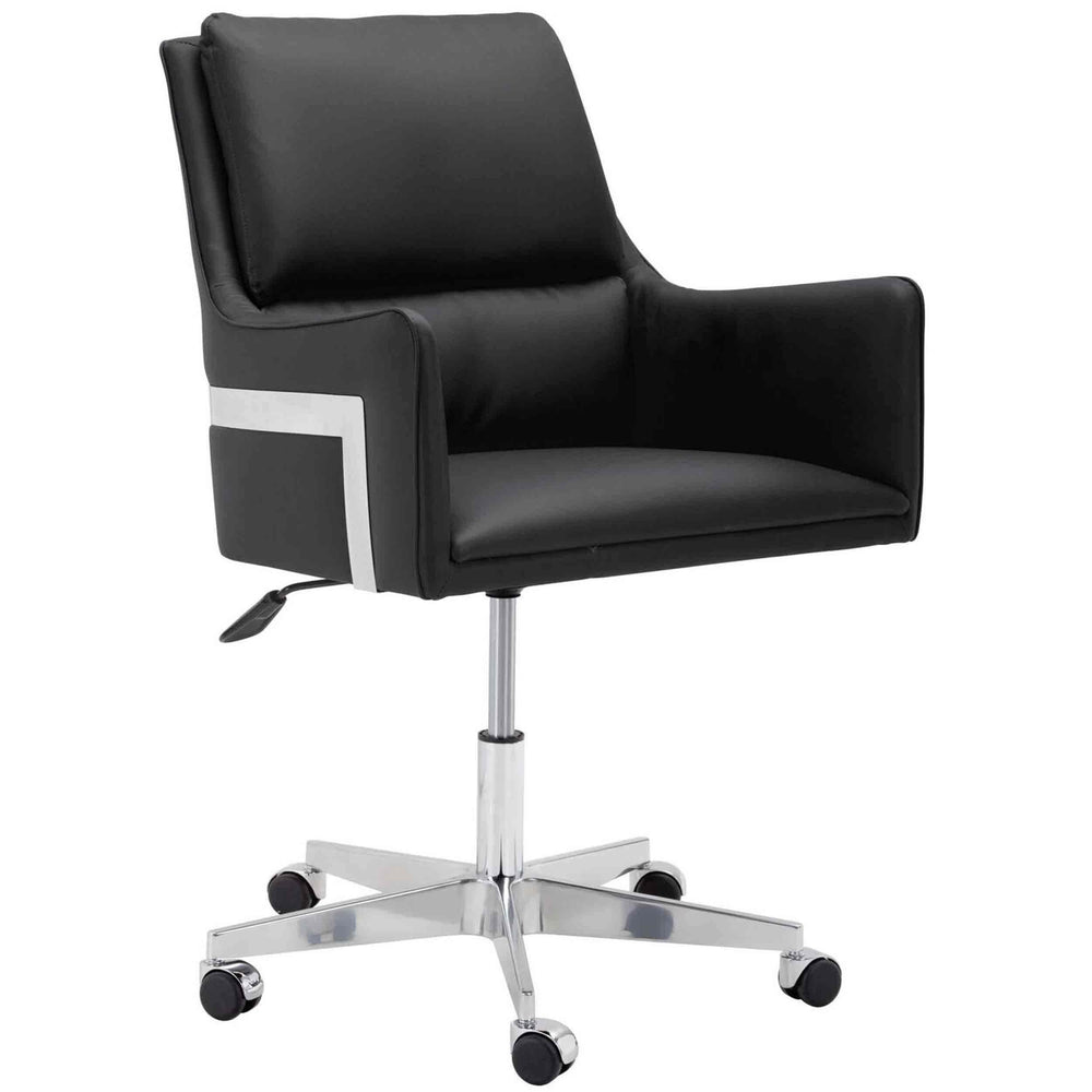 Torres Office Chair, Black - Furniture - Sunpan
