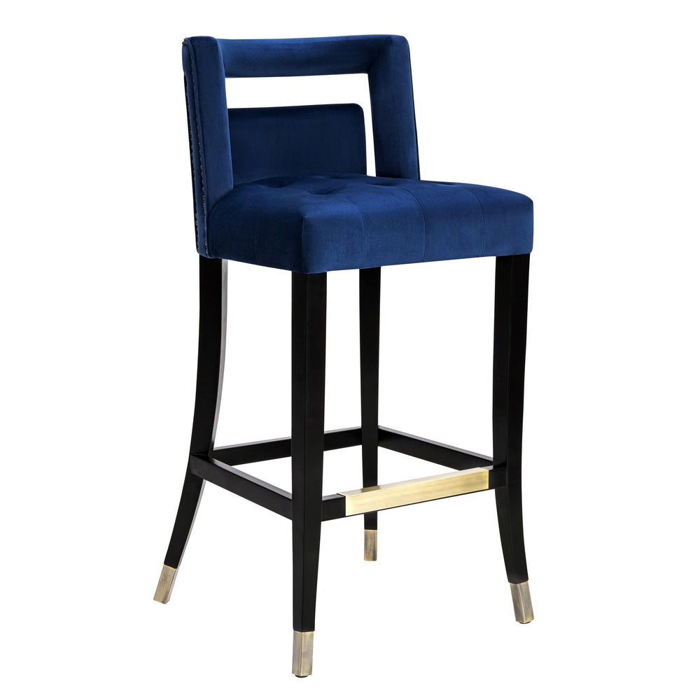 Hart Counter Stool, Navy - Furniture - Dining - Dining Stools
