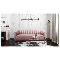 Arno Sofa, Blush - Furniture - Sofas - Fabric