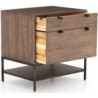 Trey Modular Filing Cabinet, Auburn Poplar - Furniture - Office - High Fashion Home