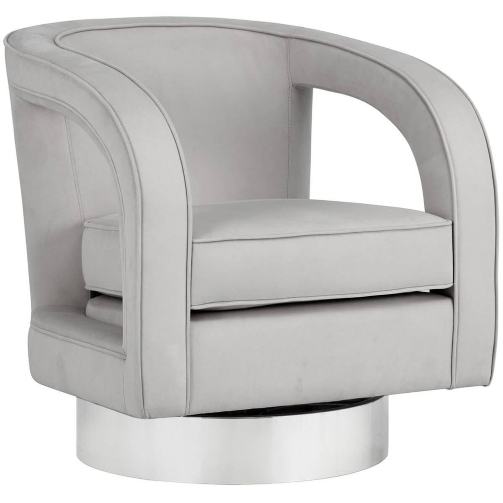 Antoni Swivel Chair, Antonio Cameo - Modern Furniture - Accent Chairs - High Fashion Home