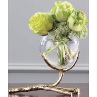 Twig Vase Holder, Brass