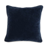 Heirloom Velvet Pillow, Navy - Accessories - Pillows