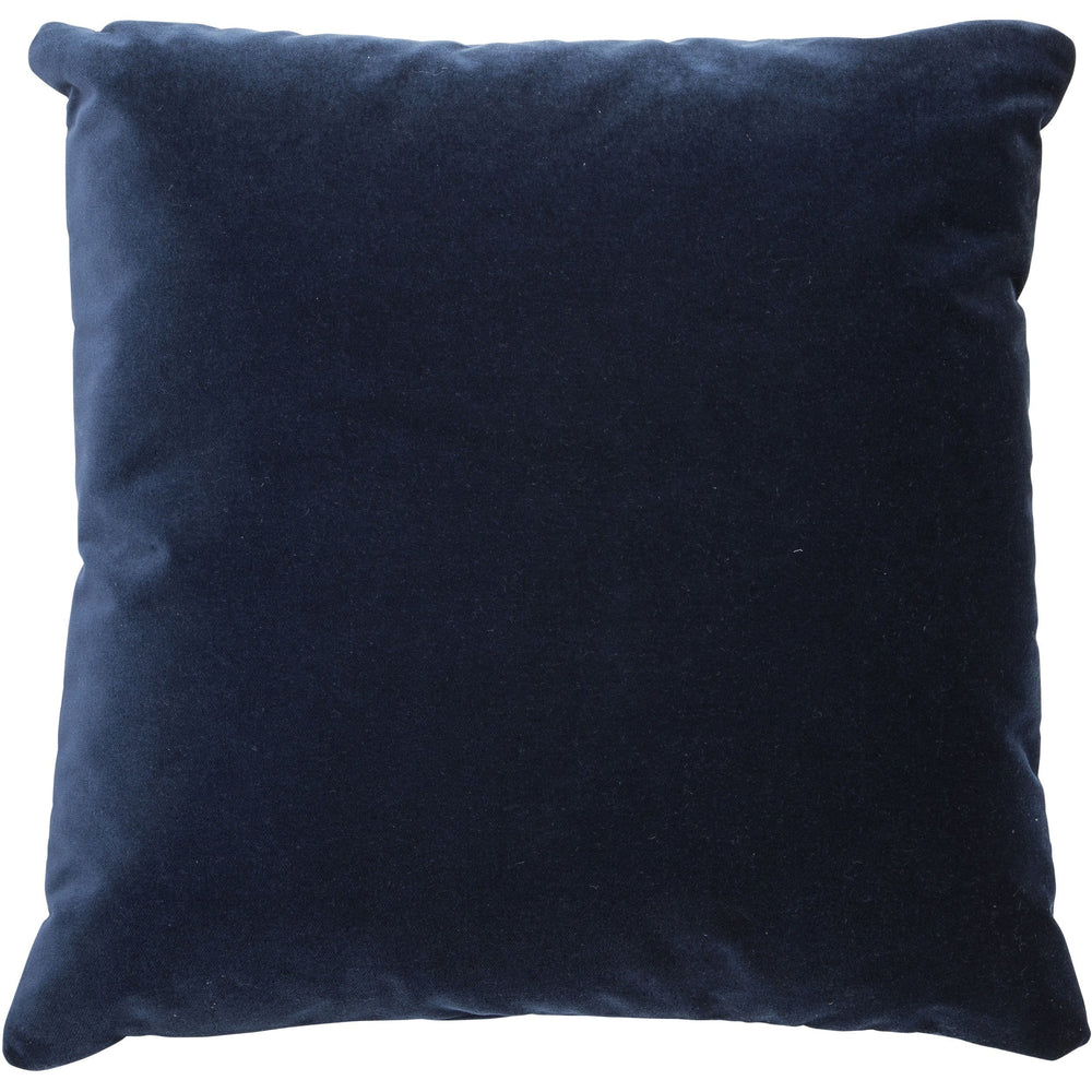 Vance Throw Pillow, Indigo - Accessories - High Fashion Home