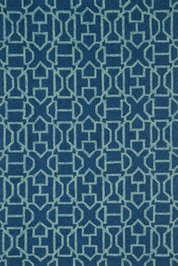 Venice Beach VB-21, Navy/Aqua - Rugs1 - High Fashion Home