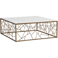 Vero Coffee Table, Rustic Bronze - Furniture - Sunpan