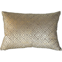 Cloud 9 Stone Velvet with Applique Pillow - Accessories - High Fashion Home