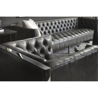 Viper Leather Armchair, Grey  - Furniture - Chairs - Leather