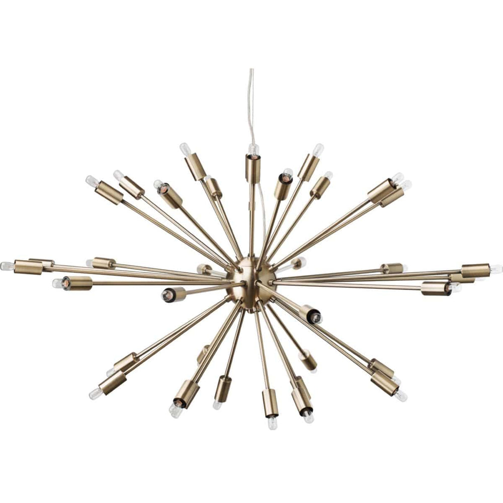 Vladamir Pendant, Antique Brass - Lighting - High Fashion Home