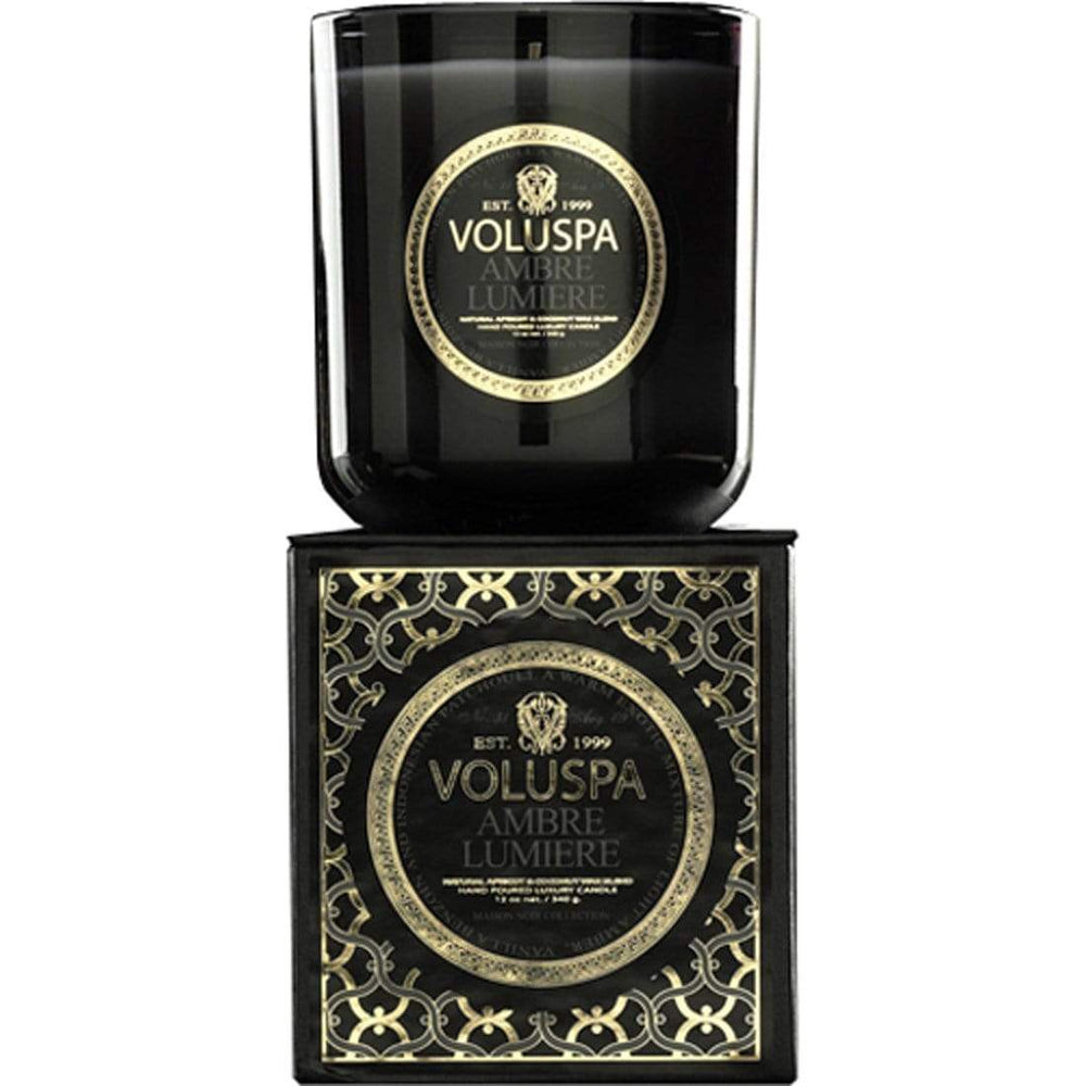 Voluspa Ambre Lumiere Boxed Candle - Accessories - Home Fragrance - Candles