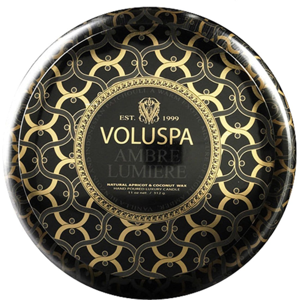 Voluspa Ambre Lumiere Tin Candle - Accessories - Home Fragrance - Candles