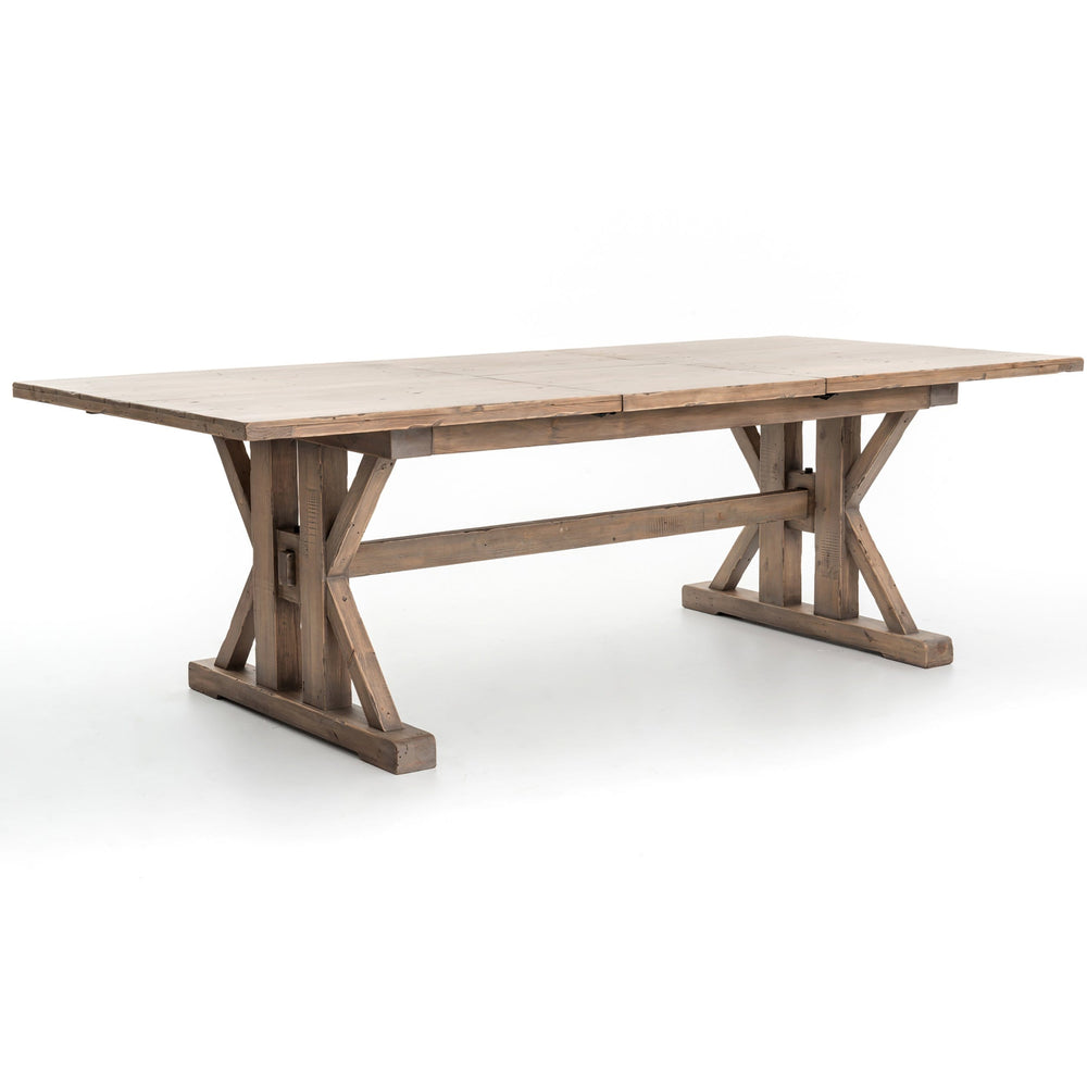 "Tuscan Spring Extension Dining Table, 72"" to 96"" - Modern Furniture - Dining Table - High Fashion Home"
