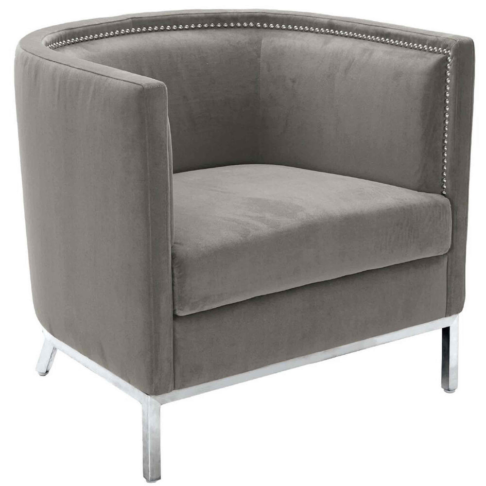 Wales Chair, Portsmouth Grey  - Furniture - Sunpan