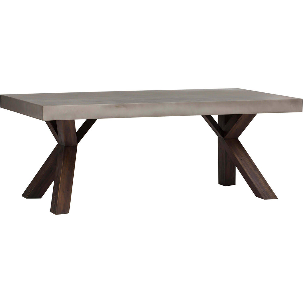Warwick Rectangular Dining Table - Modern Furniture - Dining Table - High Fashion Home