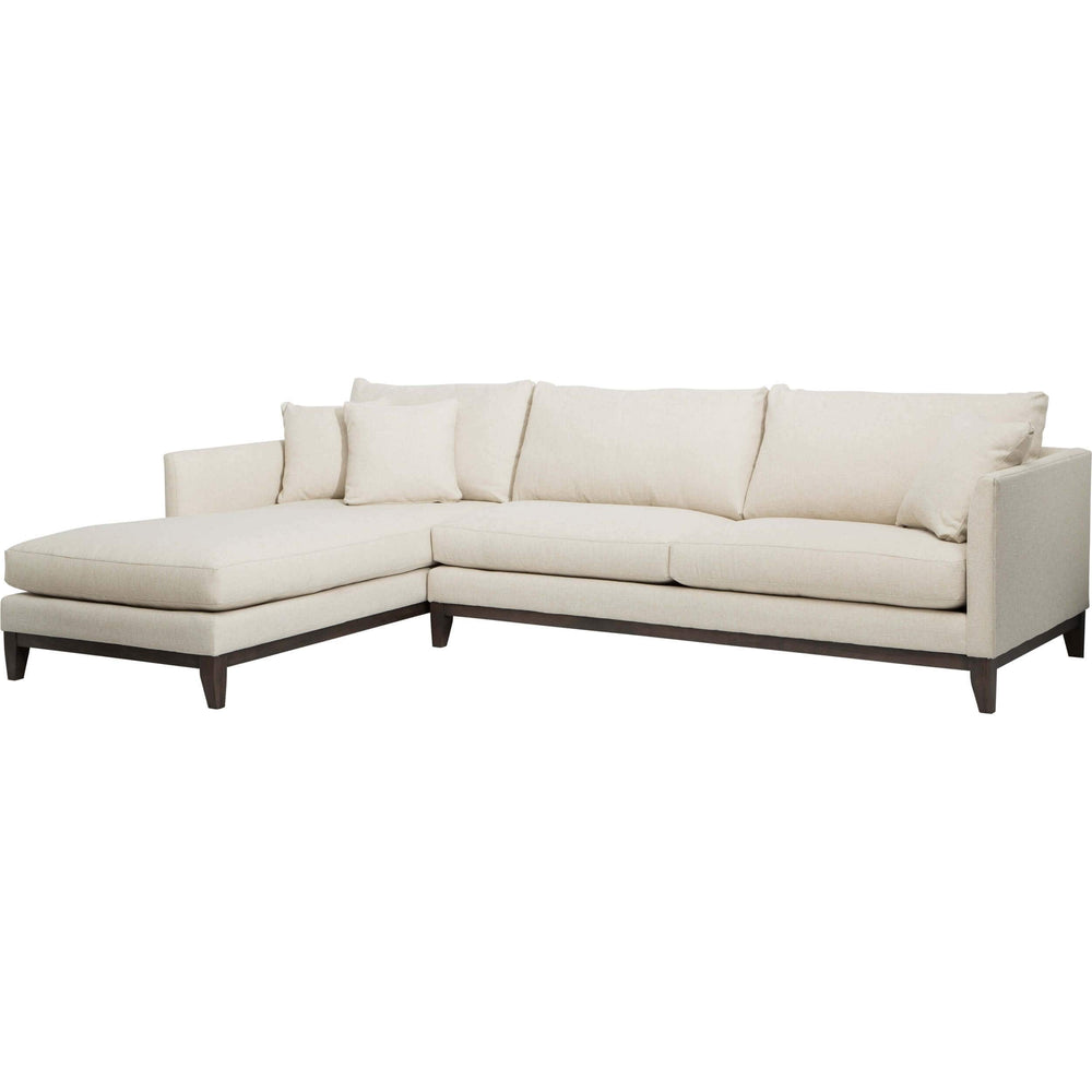 Westin Sectional, Dolley Natural - Furniture - Sofas - Fabric