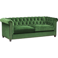 William Sofa, Vance Emerald - Furniture - Sofas - Fabric
