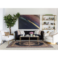 Furano Coffee Table, Gold - Furniture - Accent Tables - Coffee Tables