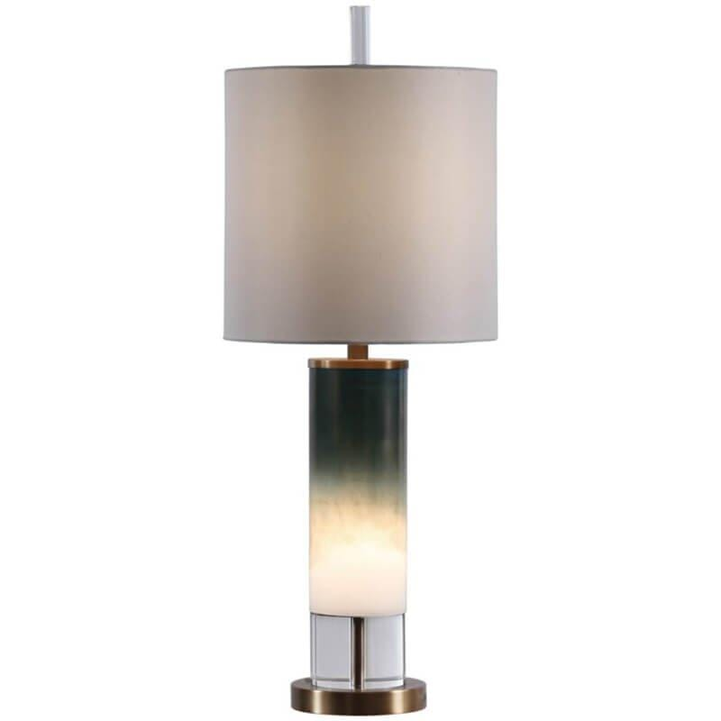 Wyatt Table Lamp with Nightlight - Lighting - High Fashion Home