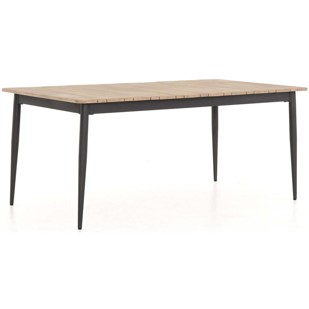 Wyton Outdoor Dining Table, Washed Brown - Furniture - Dining - High Fashion Home