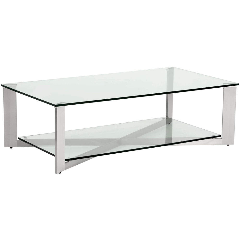 Xavier Rectangular Coffee Table - Furniture - Sunpan