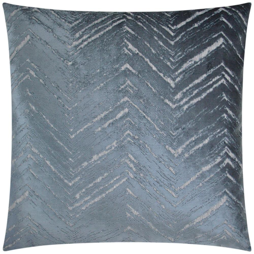 Zermatt Pillow, Blue - Accessories - High Fashion Home