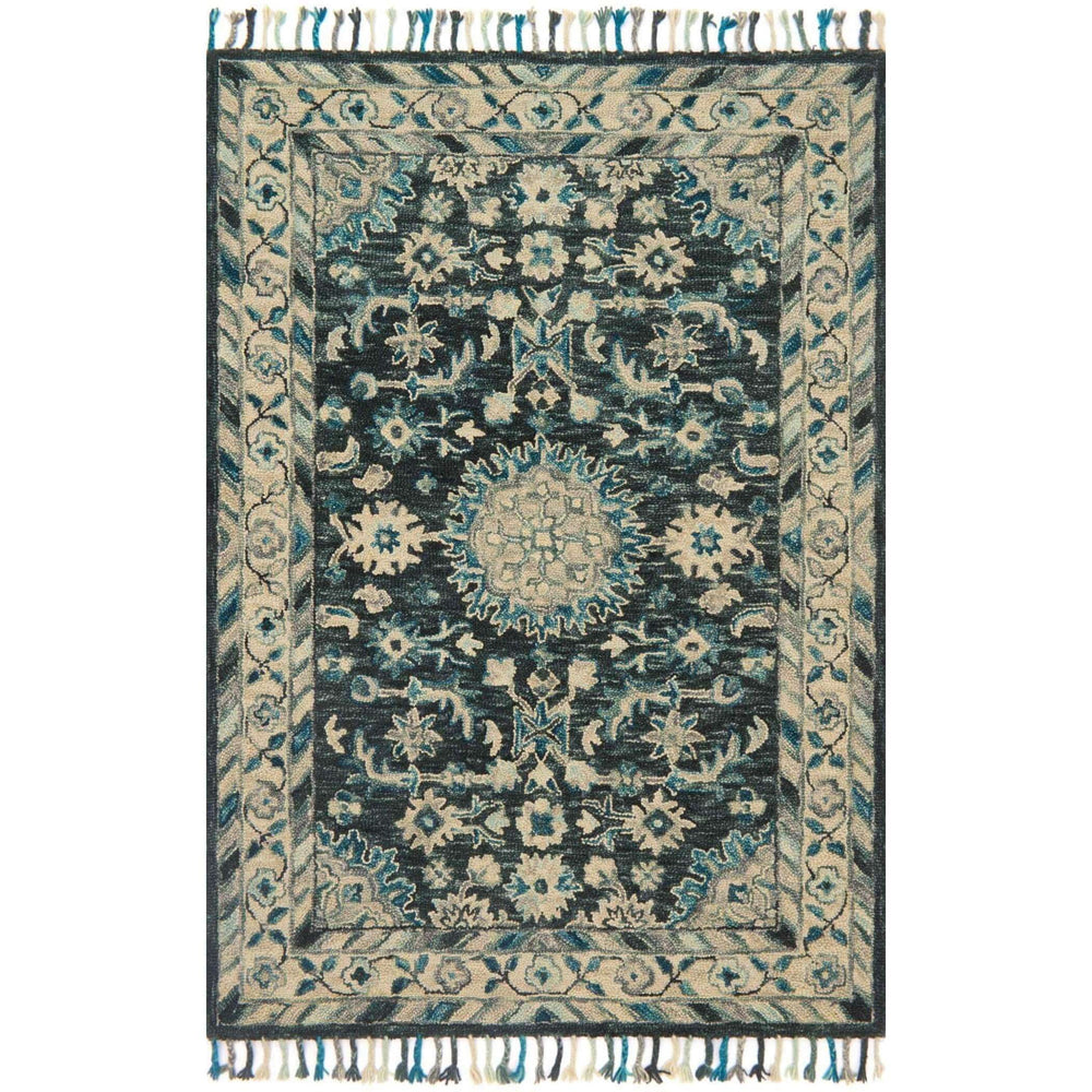 Loloi Rug Zharah ZR-02 Teal/Grey - Rugs1 - High Fashion Home
