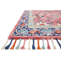 Loloi Rug Zharah ZR-03 Rose/Denim - Accessories - Rugs - Loloi Rugs