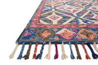 Loloi Rug Zharah ZR-04 Denim/Multi - Accessories - Rugs - Loloi Rugs