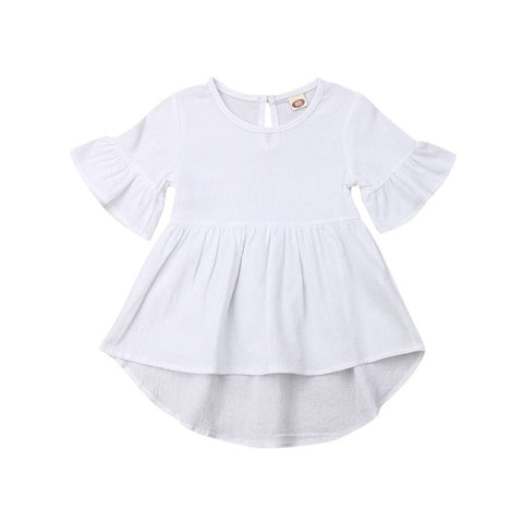 Peggy Dress - White