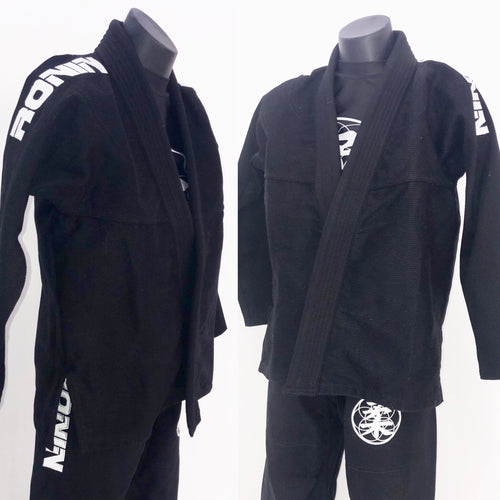Kids Ronin BJJ Gi - Black