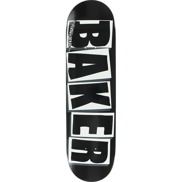 Baker Brand Logo Black White Team Pro Deck Asst. Sizes