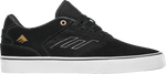 Emerica Low Vulc Black White Gold Suede Team Shoe