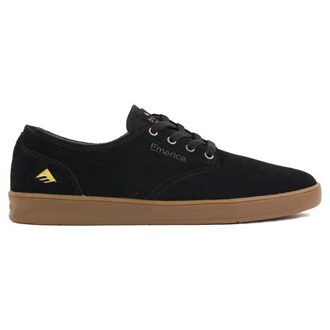 Emerica Romero Laced Black Gum Shoe