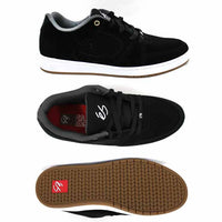 Es' Accel Slim Black/White Shoe