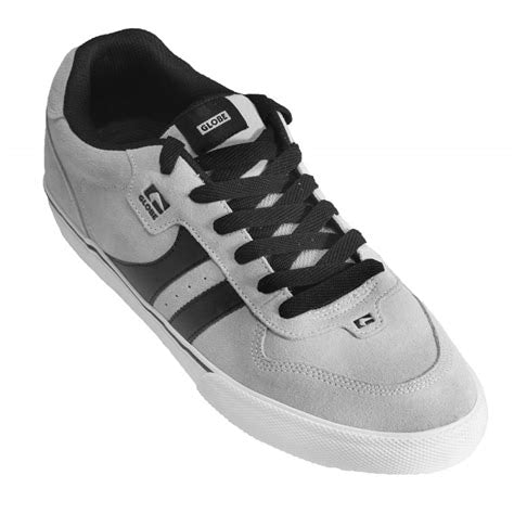 Globe Empire Light Grey Skate Shoes