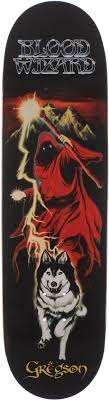 Blood Wizard Gregson Lone Wolf Team Pro Deck 8.6