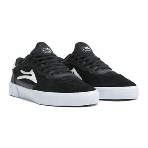 Lakai Cambridge Black White Suede Shoe