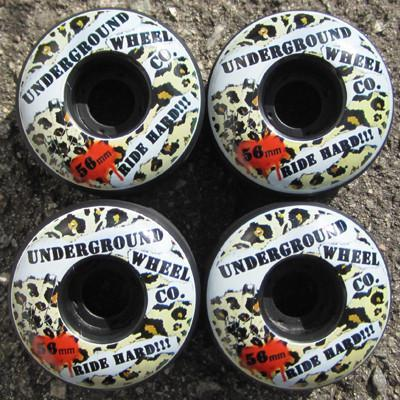 Underground Wheel Co. Wheel 56mm Wheel Set