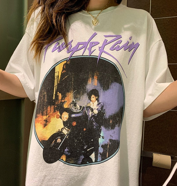 Purple rain shirt