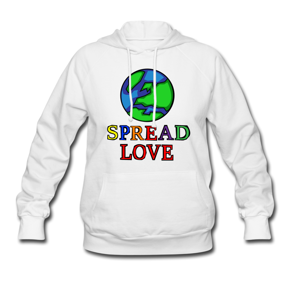Spread love hoodie - white
