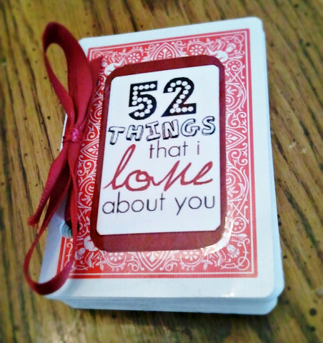 52 Things I Like About You Is A Great Birthday Gift For Your Long Distance Boo