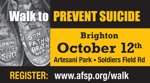 Walk with AFSP to help Prevent Suicide.