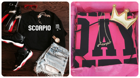 Zodiac Sweatshirts and Birthday Girl Shirts Perfect Gifts for you on Your Birthday