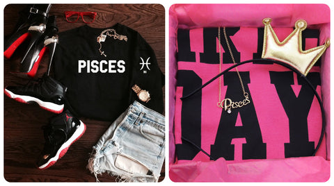 Pisces Gifts- Sweatshirts, Tees and Hoodies for the Birthday Girl